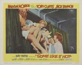 Some Like It Hot - 11 x 14 Movie Poster - Style G