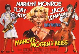 Some Like It Hot - 11 x 17 Movie Poster - German Style C