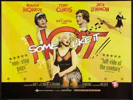 Some Like It Hot - 27 x 40 Movie Poster - UK Style A