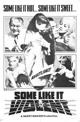 Some Like It Violent - 11 x 17 Movie Poster - Style A