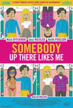 Somebody Up There Like Me - 11 x 17 Movie Poster - Style A