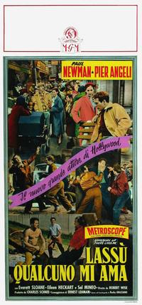 Somebody Up There Likes Me - 20 x 40 Movie Poster - Italian Style A
