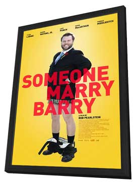 Someone Marry Barry - 11 x 17 Movie Poster - Style A - in Deluxe Wood Frame