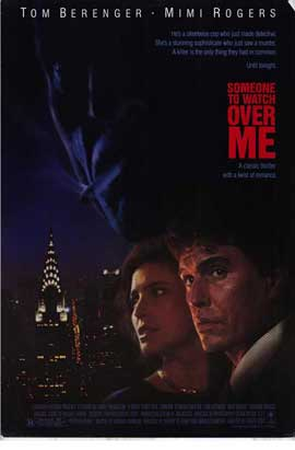 Someone to Watch Over Me - 11 x 17 Movie Poster - Style B