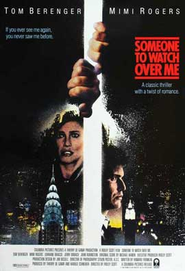 Someone to Watch Over Me - 11 x 17 Movie Poster - Style D