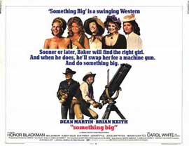 Something Big - 11 x 14 Movie Poster - Style A