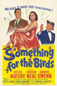 Something for the Birds - 43 x 62 Movie Poster - Bus Shelter Style A