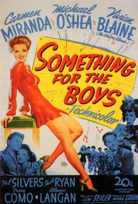 Something for the Boys - 27 x 40 Movie Poster - Style A