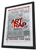 Something from Nothing: The Art of Rap - 11 x 17 Movie Poster - Style A - in Deluxe Wood Frame