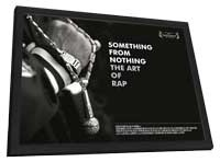 Something from Nothing: The Art of Rap - 11 x 17 Movie Poster - Style B - in Deluxe Wood Frame