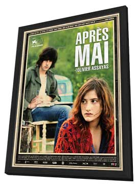 Something in the Air - 11 x 17 Movie Poster - French Style A - in Deluxe Wood Frame