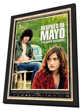 Something in the Air - 11 x 17 Movie Poster - Spanish Style A - in Deluxe Wood Frame
