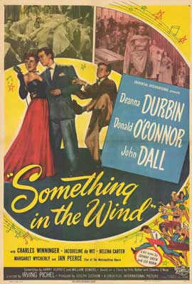 Something in the Wind - 27 x 40 Movie Poster - Style A