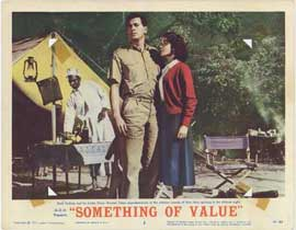 Something of Value - 11 x 14 Movie Poster - Style B