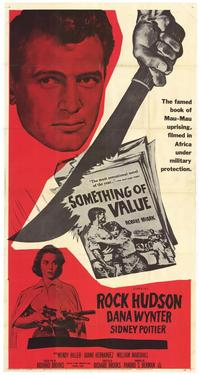Something of Value - 43 x 62 Movie Poster - Bus Shelter Style A