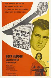 Something of Value - 27 x 40 Movie Poster - Style B