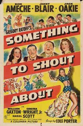 Something to Shout About - 27 x 40 Movie Poster - Style A