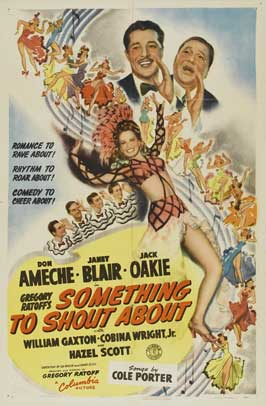 Something to Shout About - 43 x 62 Movie Poster - Bus Shelter Style A