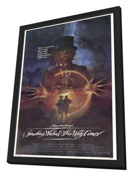 Something Wicked This Way Comes - 27 x 40 Movie Poster - Style A - in Deluxe Wood Frame