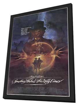 Something Wicked This Way Comes - 11 x 17 Movie Poster - Style A - in Deluxe Wood Frame