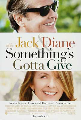 Something's Gotta Give - 27 x 40 Movie Poster - Style B