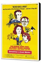 Sometimes a Great Notion - 11 x 17 Movie Poster - Style A - Museum Wrapped Canvas
