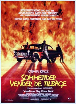 Sometimes They Come Back - 27 x 40 Movie Poster - Danish Style A