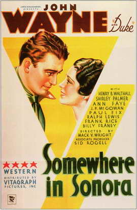 Somewhere in Sonora - 11 x 17 Movie Poster - Style A