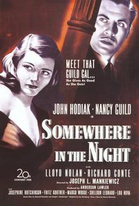 Somewhere in the Night - 11 x 17 Movie Poster - Style B