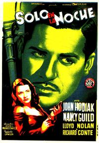 Somewhere in the Night - 11 x 17 Movie Poster - Spanish Style D
