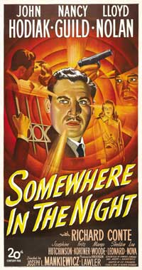 Somewhere in the Night - 20 x 40 Movie Poster - Style A