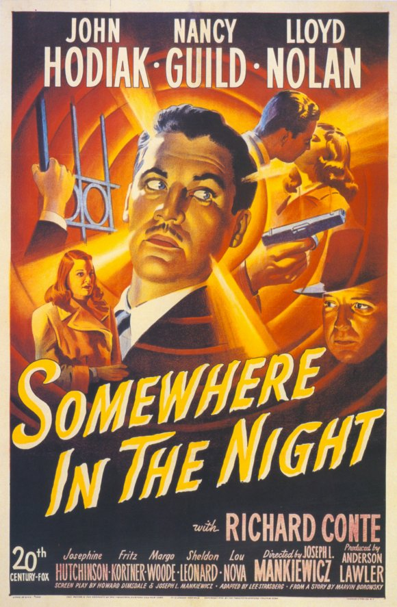 somewhere in the night movie posters from movie poster shop