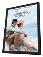 Somewhere in Time - 11 x 17 Movie Poster - Style C - in Deluxe Wood Frame