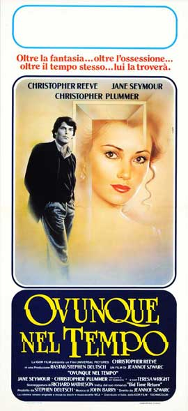 Somewhere in Time - 13 x 28 Movie Poster - Italian Style A