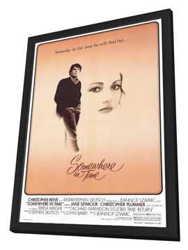 Somewhere in Time - 11 x 17 Movie Poster - Style A - in Deluxe Wood Frame