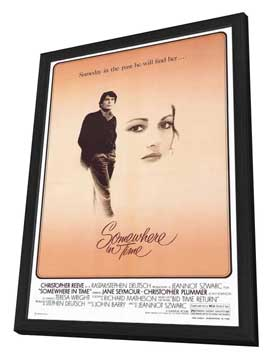 Somewhere in Time - 27 x 40 Movie Poster - Style A - in Deluxe Wood Frame