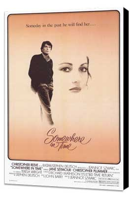 Somewhere in Time - 11 x 17 Movie Poster - Style A - Museum Wrapped Canvas