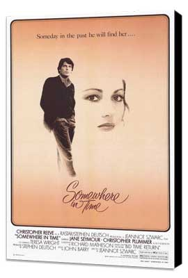 Somewhere in Time - 27 x 40 Movie Poster - Style A - Museum Wrapped Canvas