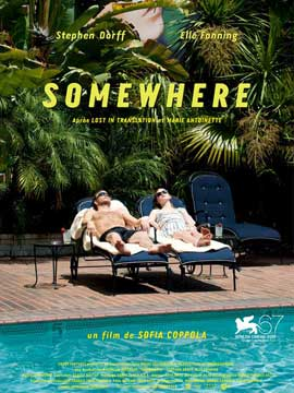 Somewhere - 11 x 17 Movie Poster - French Style A