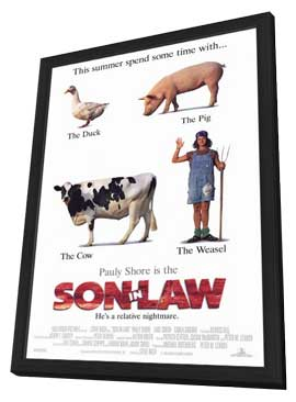 Son-in-Law - 11 x 17 Movie Poster - Style A - in Deluxe Wood Frame