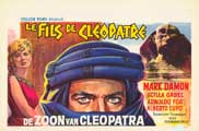Son of Cleopatra - 27 x 40 Movie Poster - Belgian Style A