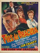 Son of Dracula - 27 x 40 Movie Poster - Belgian Style A