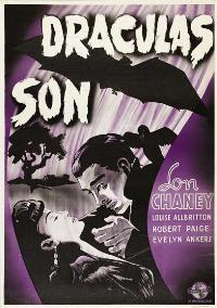 Son of Dracula - 11 x 17 Movie Poster - Swedish Style A