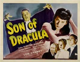 Son of Dracula - 22 x 28 Movie Poster - Half Sheet Style A