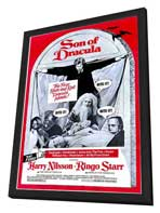 Son of Dracula - 11 x 17 Movie Poster - Style A - in Deluxe Wood Frame