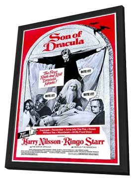 Son of Dracula - 27 x 40 Movie Poster - Style A - in Deluxe Wood Frame