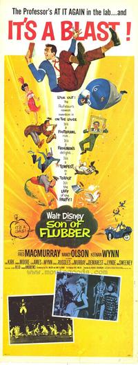 Son of Flubber - 11 x 17 Movie Poster - Style B