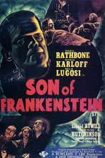 Son of Frankenstein - 11 x 17 Movie Poster - Style F