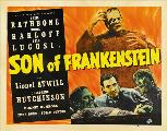 Son of Frankenstein - 30 x 40 Movie Poster UK - Style B