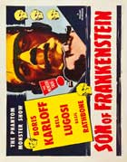 Son of Frankenstein - 11 x 14 Movie Poster - Style S